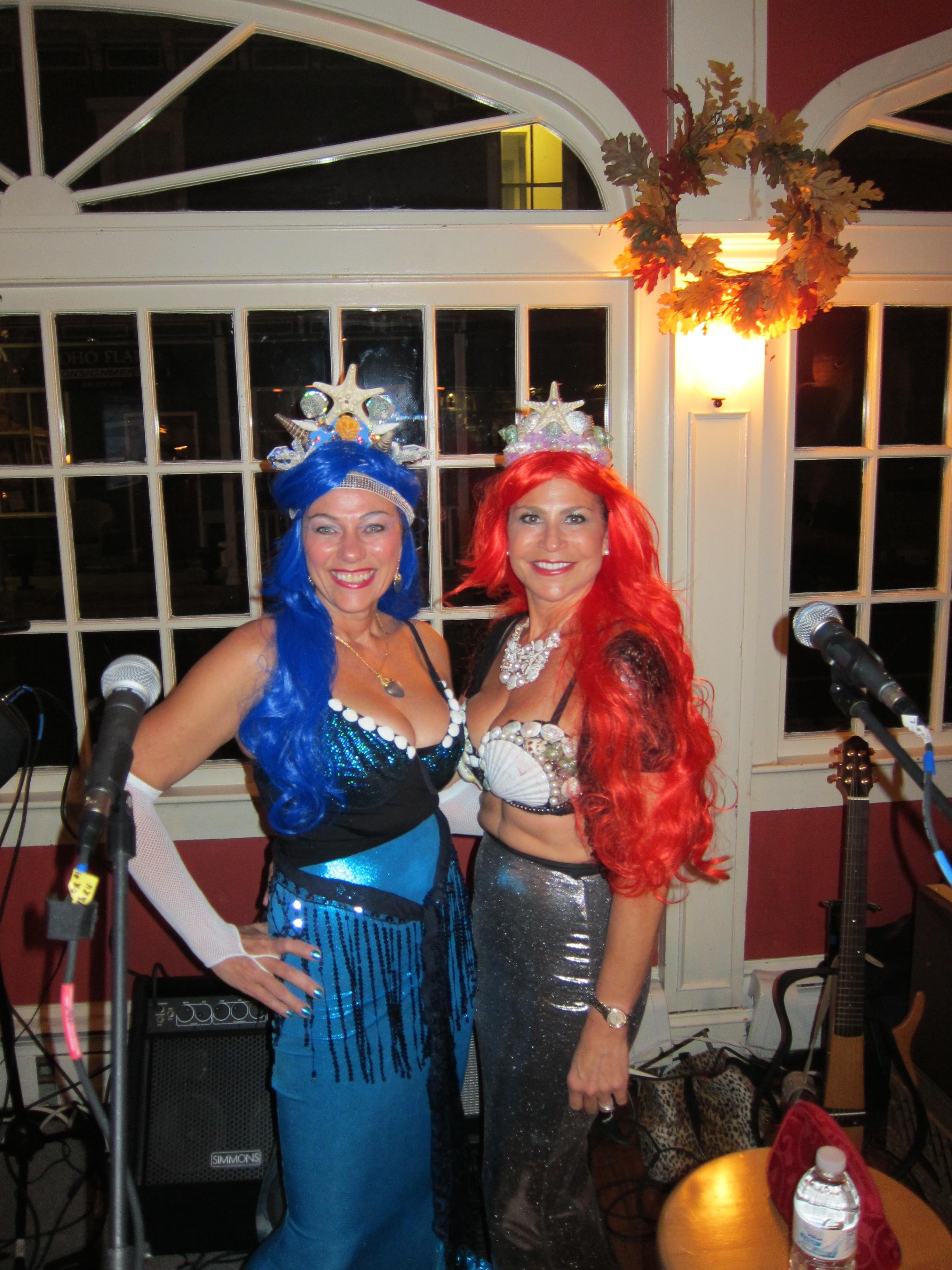 Christy and Lisa on Halloween